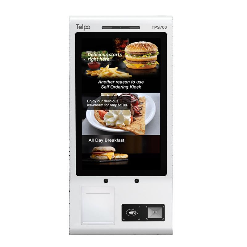 TPS700 Android Self-Ordering Kiosk Machine