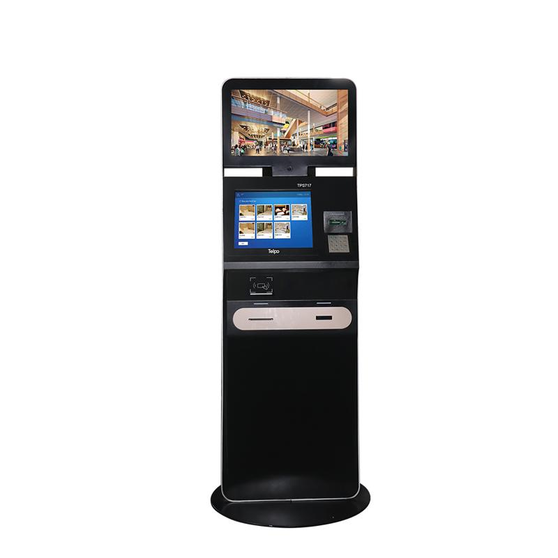 Self-service Hotel Check-in Kiosk Machine TPS717