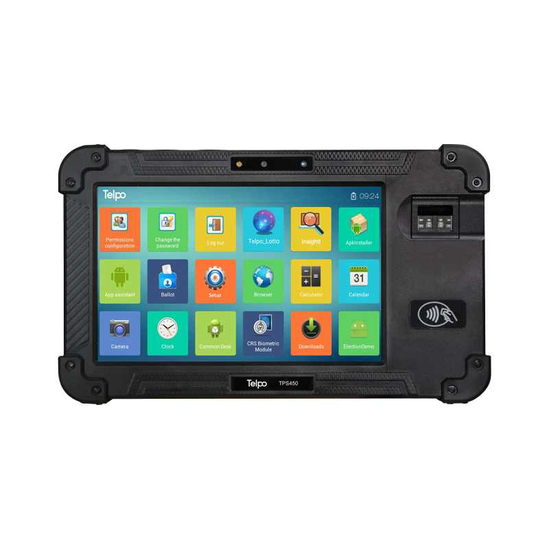 8-Inch Biometrics Mobile Tablet POS Device TPS450
