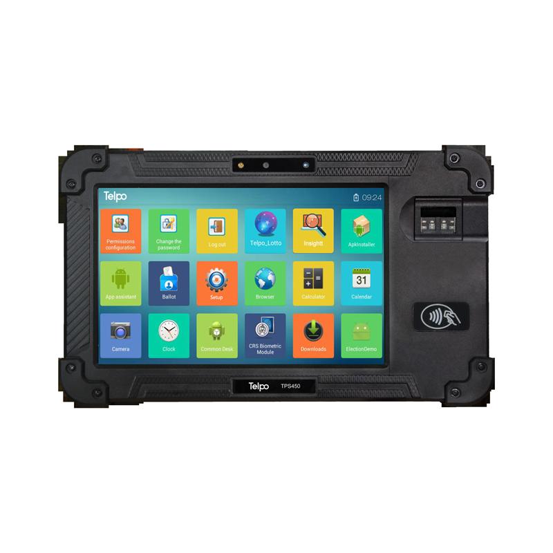 8-Inch Biometrics Mobile Tablet POS Device TPS450