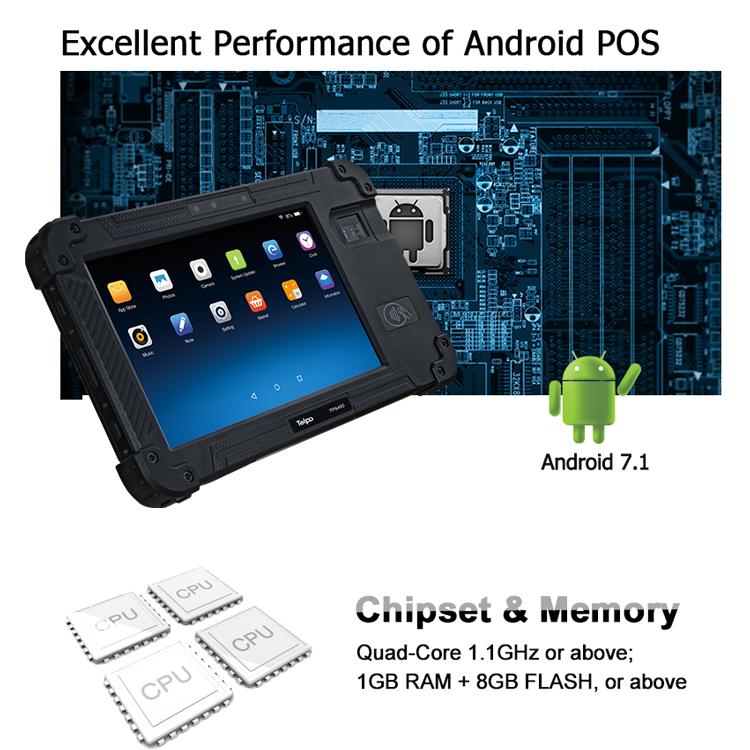 Telpo-Best 8-inch Protable Biometrics Iris Scanner Device Tps450 - Telpo-1
