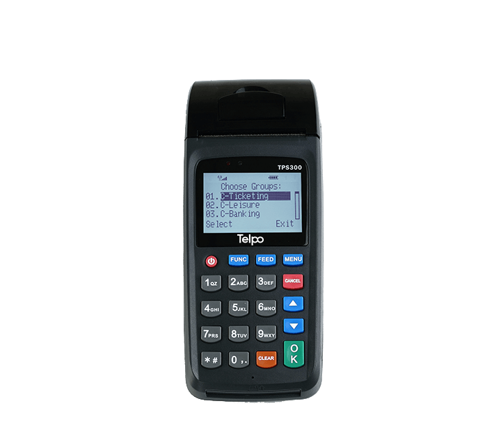 Handheld All-in-one POS TPS300B