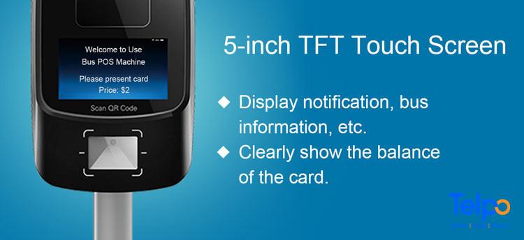 Telpo-Telpo New Arrival: TPS530 Smart Bus Ticketing Machine-4