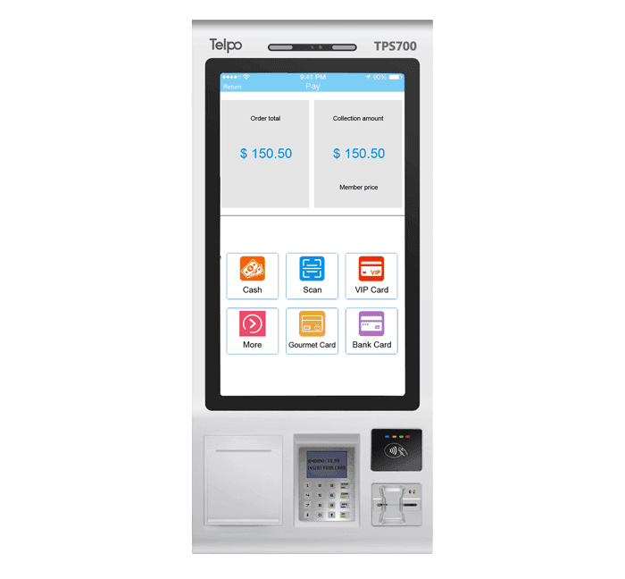 Self Service Ordering and Payment Kiosk