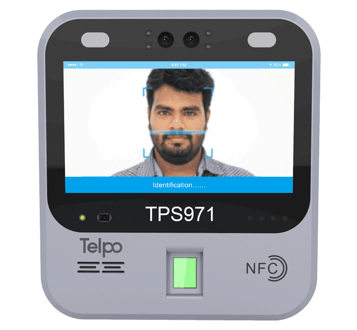 7-inch Android Face Recognition Machine TPS970
