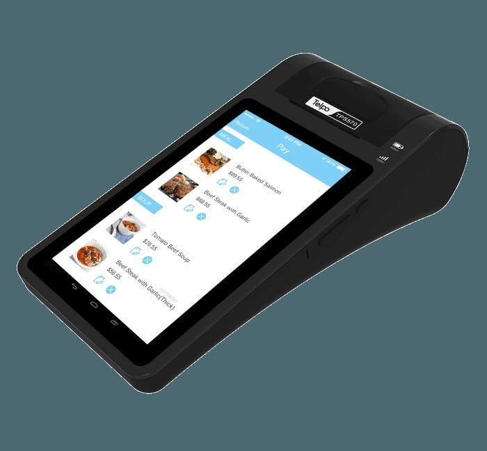 7-Inch Screen Desktop Tablet POS Terminal with Thermal Printer TPS570