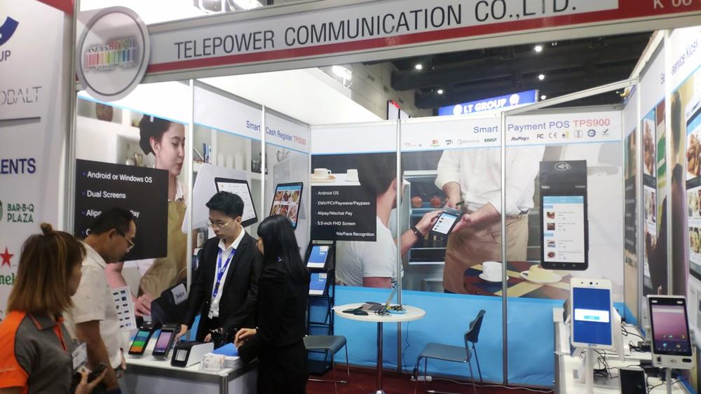 Telpo-ASEAN Retail 2019 |Telpo products ignite the show-4