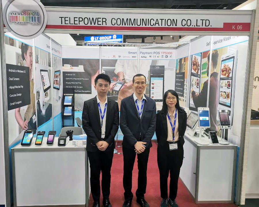 ASEAN Retail 2019 |Telpo products ignite the show
