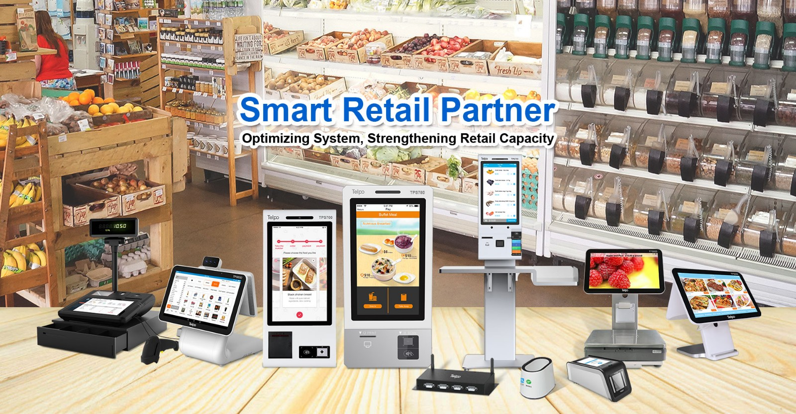 Telpo-TelpoAlipayBurger King |Jointly Create Self Service Smart Terminal For New Catering-5