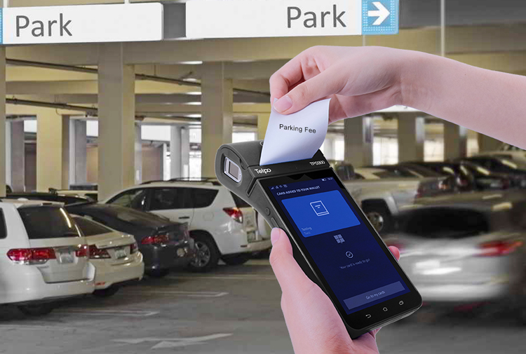 Telpo-Telpo TPS900 Solves the Payment Problem in Parking Lots