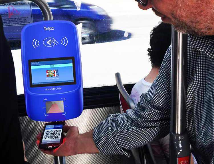 Telpo-Bus Validator | Smart Payment Will Convenient People Green Commuting-2