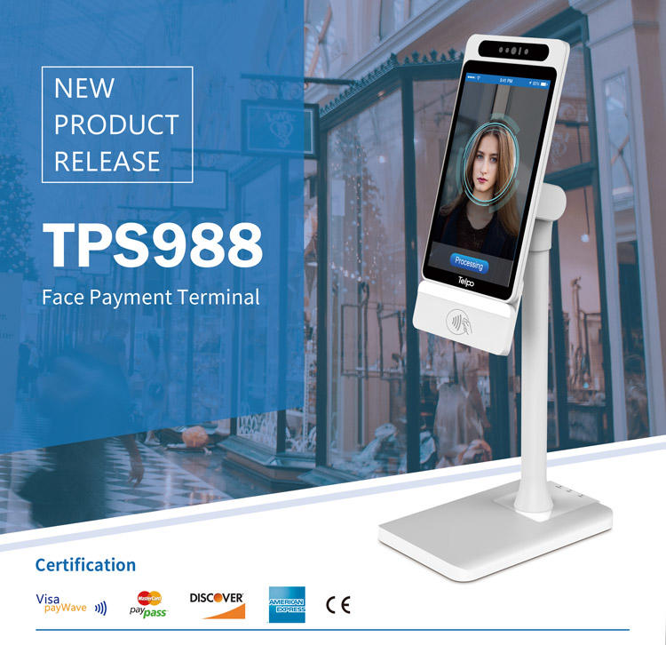 New Product | Multifunctional Face Payment Terminal TPS988