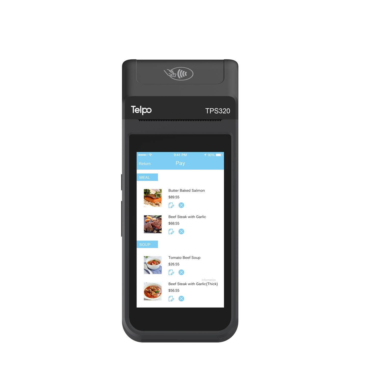Retail Wireless QR-code Payment Mobile POS Telpo TPS320