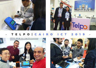 Telpo Participate in Egypt CAIRO ICT 2019