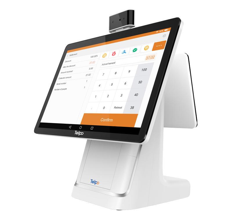 Telpo C1 | Face and Voice Recognition AI Cash Register