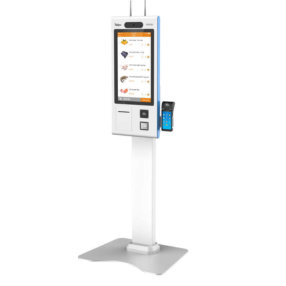 Telpo TPS700 | Self Service Ordering and Payment Kiosk