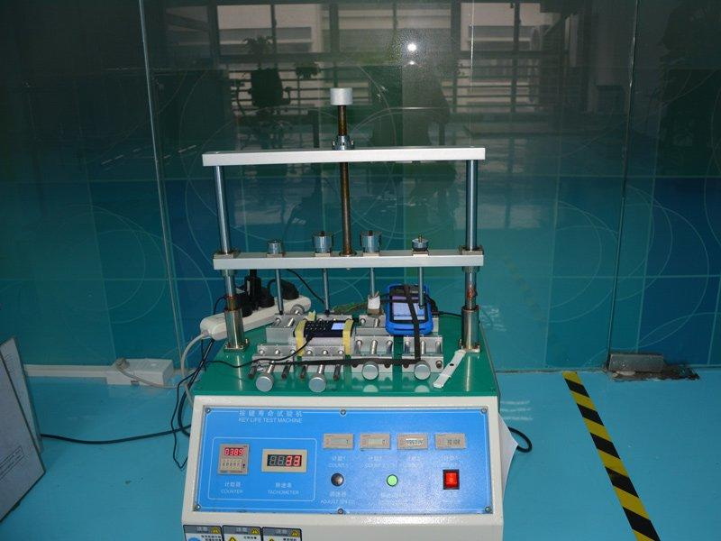 Quality inspection button life test machine