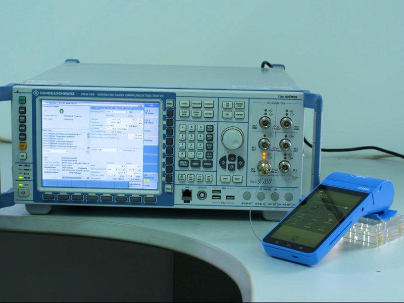 Quality inspection LTE RF test