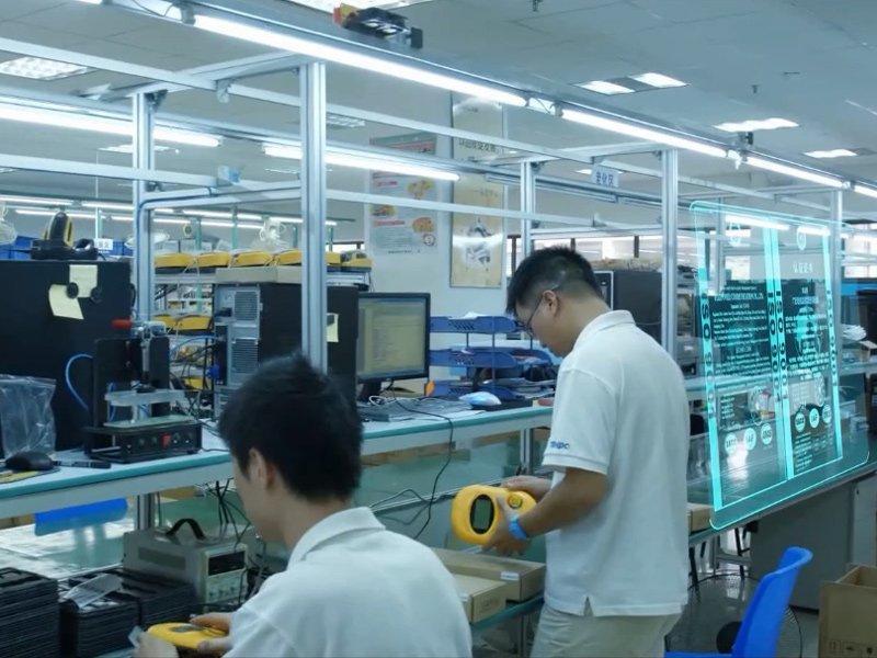 Telpo production line