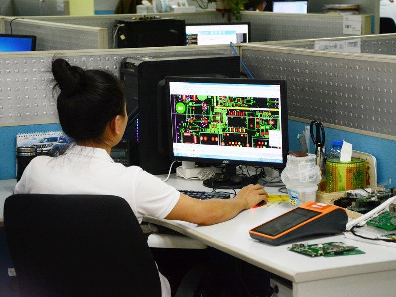 Telpo R & D Center PCB circuit board Design
