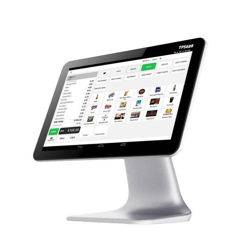 Easy to use Single Screen Android Cash Register TPS688