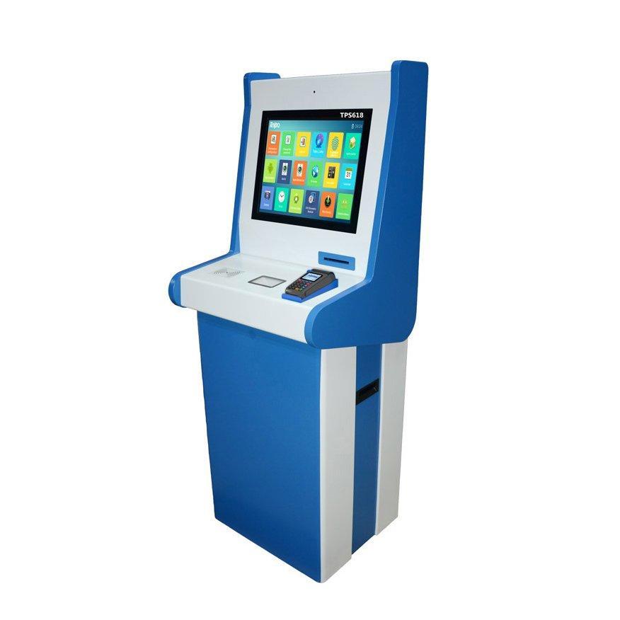 19 inch Touch Screen Self Service Ticketing Kiosk Machine TPS618